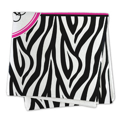 Zebra Print Microfiber Dish Rag (Personalized)