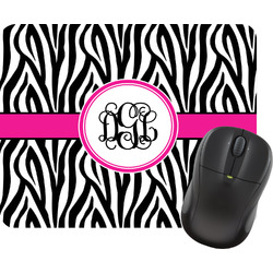 Zebra Print Mouse Pad (Personalized)