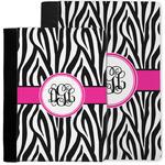 Zebra Print Notebook Padfolio w/ Monogram