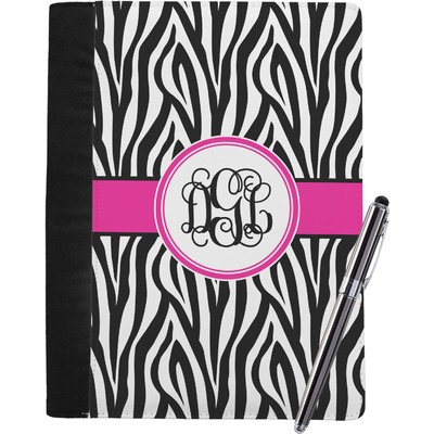 Zebra Print Notebook Padfolio (Personalized)