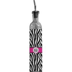 Zebra Print Oil Dispenser Bottle (Personalized)