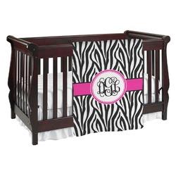 Zebra Print Baby Blanket (Personalized)