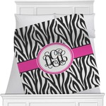 Zebra Print Blanket (Personalized)