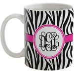 Zebra Print Coffee Mug (Personalized)