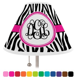 Zebra Print Lamp Shade (Personalized)