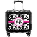 Zebra Print Pilot / Flight Suitcase (Personalized)