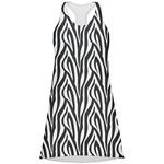 Zebra Print Racerback Dress (Personalized)