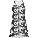 Zebra Print Racerback Dress (Personalized)