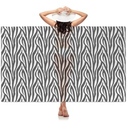Zebra Print Sheer Sarong (Personalized)
