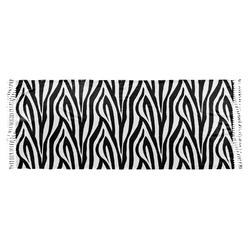 Zebra Print Faux Pashmina Scarf (Personalized)