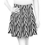 Zebra Print Skater Skirt (Personalized)