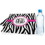 Zebra Print Sports & Fitness Towel (Personalized)