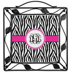 Zebra Print Trivet (Personalized)