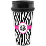 Zebra Print Travel Mug (Personalized)