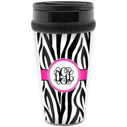Zebra Print Travel Mug (Personalized)