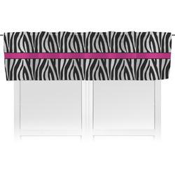 Zebra Print Valance (Personalized)