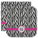 Zebra Print Facecloth / Wash Cloth (Personalized)