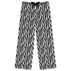 Zebra Print Womens Pajama Pants (Personalized)