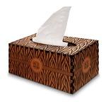 Zebra Print Wooden Tissue Box Cover - Rectangle (Personalized)