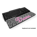 Zebra Print Keyboard Wrist Rest (Personalized)