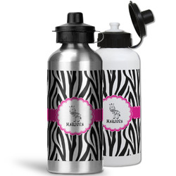 Zebra Water Bottles- Aluminum (Personalized)