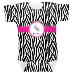 Zebra Baby Bodysuit (Personalized)