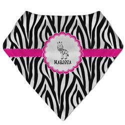 Zebra Bandana Bib (Personalized)