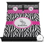 Zebra Duvet Cover Set (Personalized)