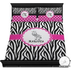 Zebra Duvet Cover Set (Personalized)