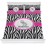 Zebra Comforter Set (Personalized)