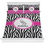 Zebra Comforters (Personalized)