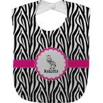 Zebra Baby Bib (Personalized)