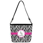 Zebra Bucket Bag w/ Genuine Leather Trim (Personalized)