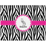 Zebra Placemat (Fabric) (Personalized)