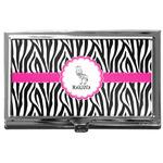 Zebra Business Card Case
