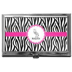 Zebra Business Card Case