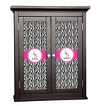 Zebra Cabinet Decal - Custom Size (Personalized)