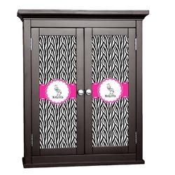 Zebra Cabinet Decal - Custom Size (Personalized)