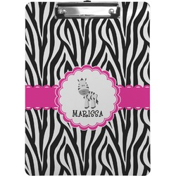 Zebra Clipboard (Personalized)