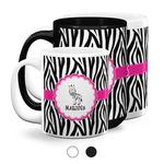 Zebra Coffee Mugs (Personalized)