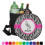 Zebra Collapsible Cooler & Seat (Personalized)