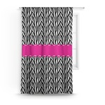 Zebra Curtain (Personalized)