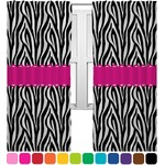 Zebra Curtains (2 Panels Per Set) (Personalized)