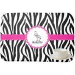 Zebra Dish Drying Mat (Personalized)