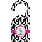 Zebra Door Hanger (Personalized)