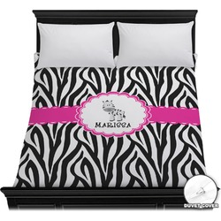 Zebra Duvet Cover (Personalized)