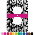 Zebra Electric Outlet Plate (Personalized)