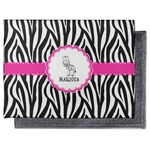 Zebra Microfiber Screen Cleaner (Personalized)