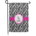 Zebra Garden Flag (Personalized)