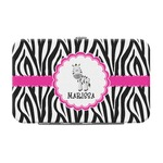 Zebra Genuine Leather Small Framed Wallet (Personalized)